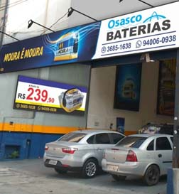 Lojas de Baterias em Osasco - 1